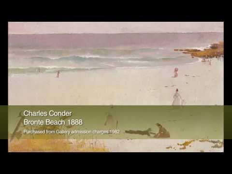25 89097 -  Charles Conder 'Bronte Beach' 1888