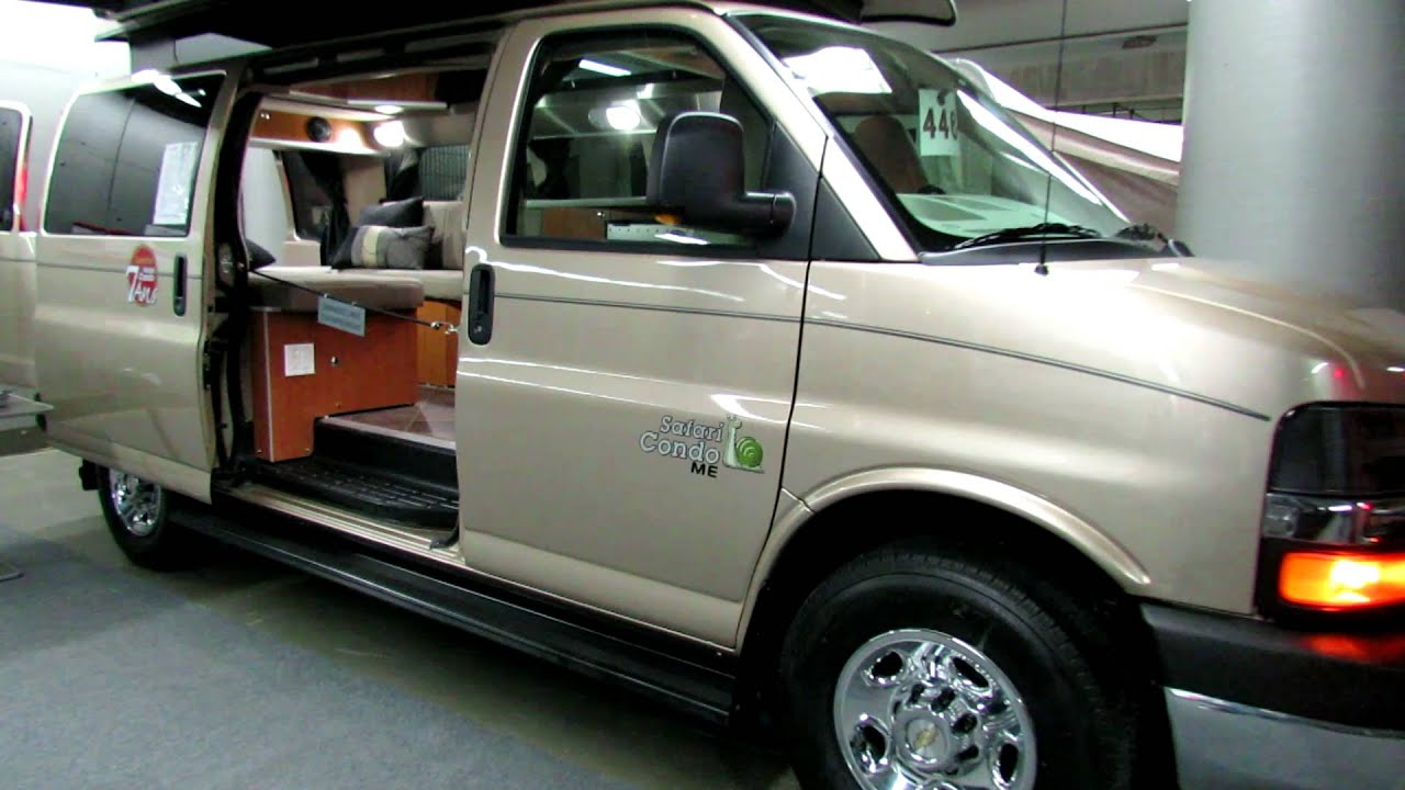 2012 Chevrolet Safari Condo ME 2500 Savana at 2012 Salon du VR Vehicules Recreatifs de Montreal ...