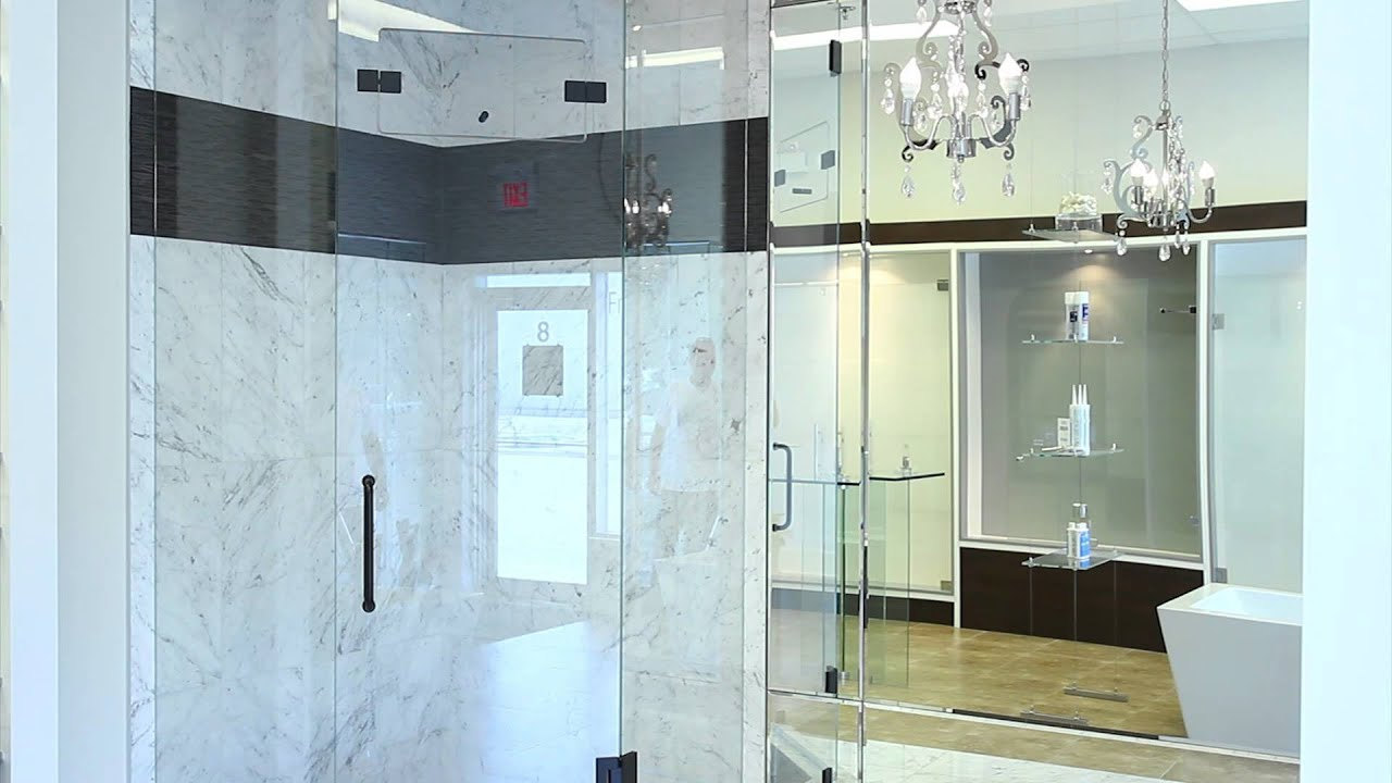 Quality Glass Shower Showroom Tour - YouTube