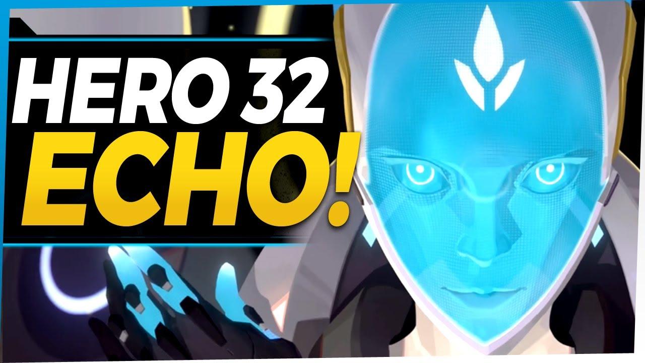 Download Overwatch NEW HERO Echo - Hero 32 Origin Story