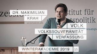 Volk, Volkssouveränität, Verfassung – Dr. Maximilian Krah beim IfS