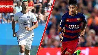 FIFA What If OLD MEN [Zlatan, Iniesta] vs. YOUNG BLOOD [Messi, Neymar] Challenge! thumbnail