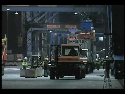 NMSA & OSHA - Longshore Safety Video #2 - Container Loading and Unloading Operations