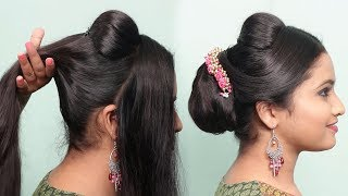 Hairstyle for Medium Hair || Medium Hair Hairstyle For Girls || AWESOME PARTY HAIRSTYLE FOR GIRLS