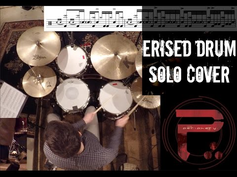 Erised Drum Solo Cover by Eric Berringer (Drum Solo by Matt Halpern)(4KHD)