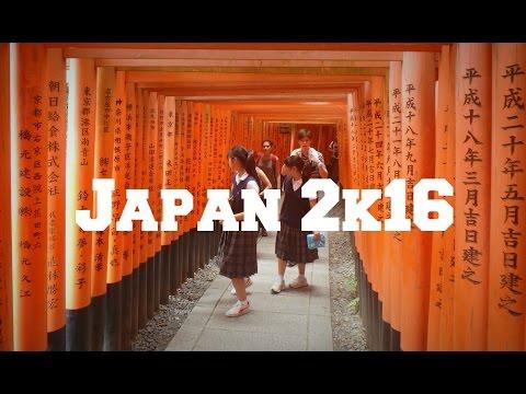 Travel Japan 2k16 - Tokyo, Osaka, Kyoto, Hiroshima & Yokohama | GOPRO 4K - RVSNfilms