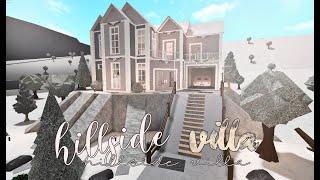 Bloxburg : Hillside Villa 50k (No Advanced Placing)