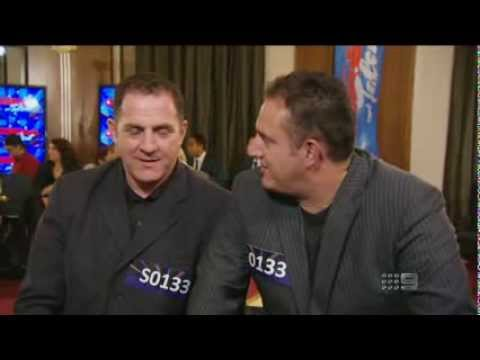 The Foenander Brothers - Police Officer & IT Worker - Australia's Got Talent 2013 - Audition [FULL]