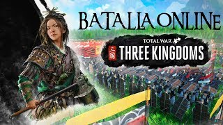 Total War: THREE KINGDOMS | PRIMERA Batalla Online 3 vs 3