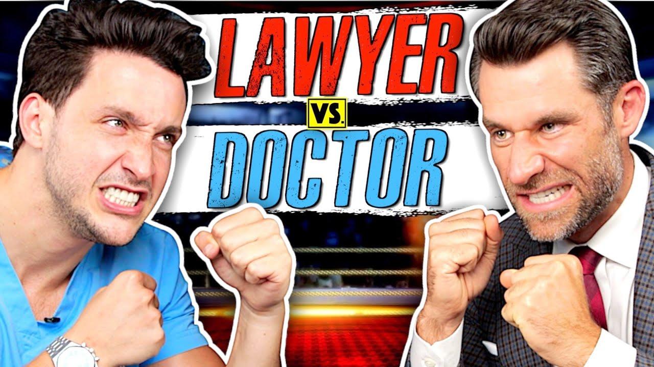 Download Law School vs. Med School: Which Is Harder?
