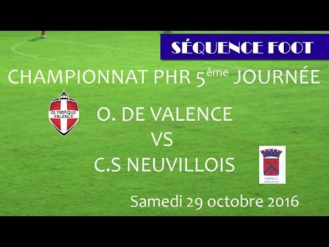 Séquence foot OV CS Neuville PHR 30 10 2016
