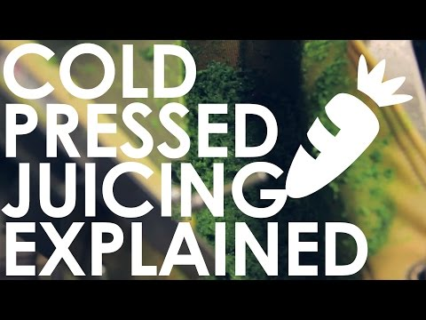 Cold Pressed Juicing Explained - New at Nature's Emporium