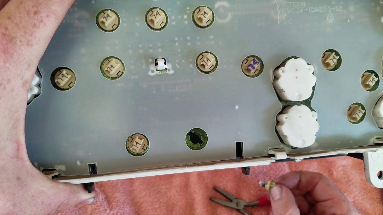 1996 ford f250 instrument panel lights