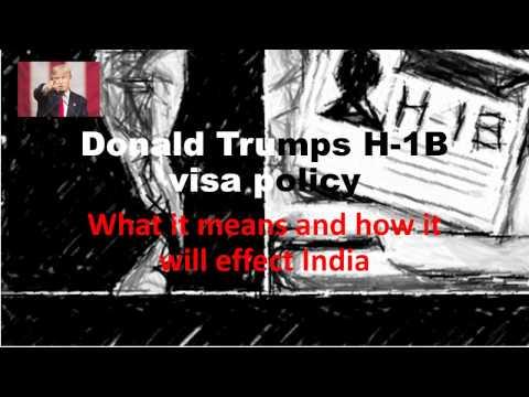 Donald Trumps H 1B visa policy