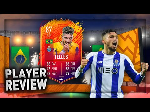 FIFA 20: 87 HEADLINER ALEX TELLES PLAYER REVIEW!!