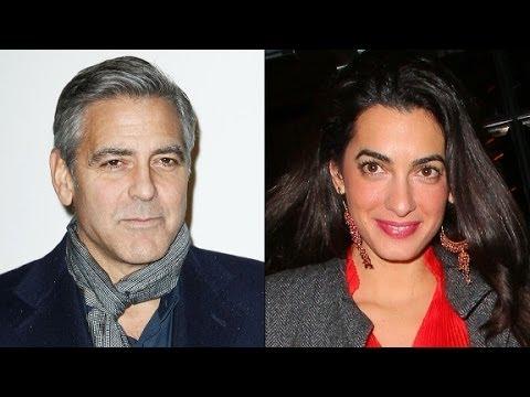Is George Clooney engaged to Amal Alamuddin?