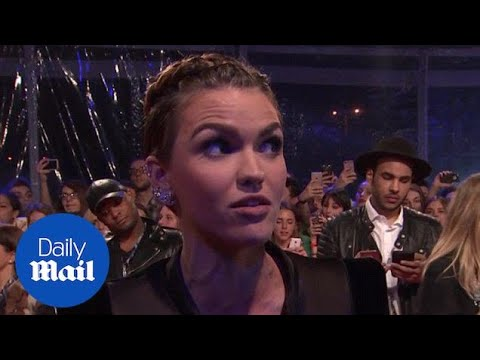 Ruby Rose: Watch out for Ed Sheeran as MTV EMAs host! - Daily Mail