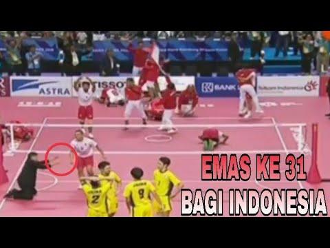 Medali Emas Lagi Bagi Indonesia Di Cabor SEPAK TAKRAW PUTRA | ASIAN GAMES 2018