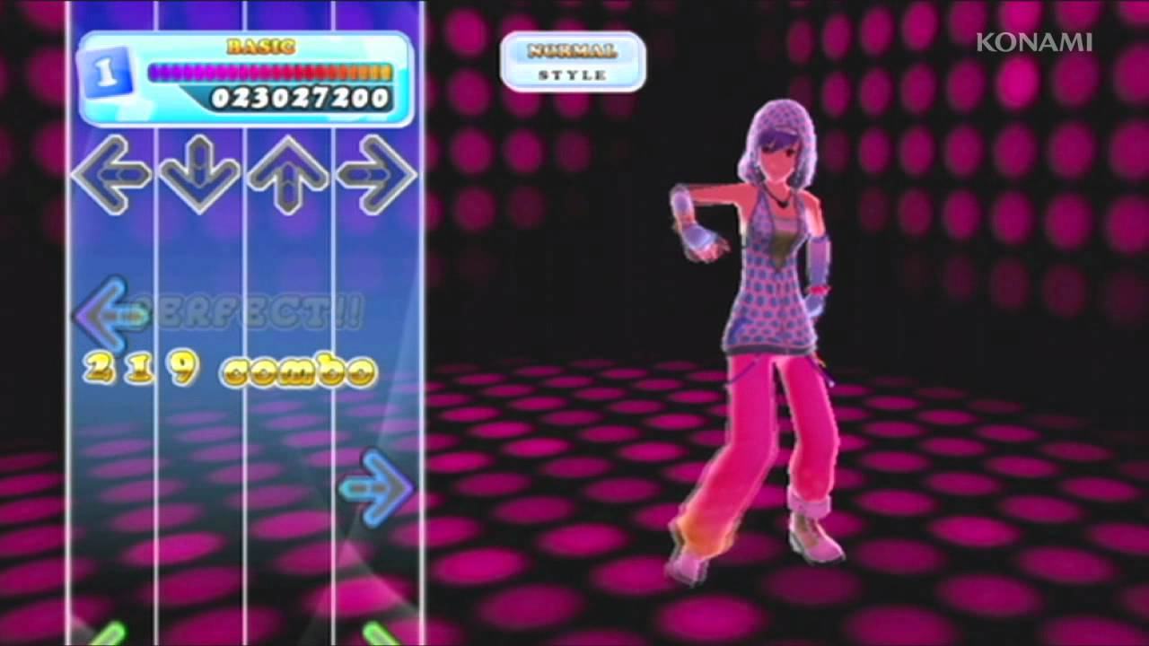 dance revolution wii