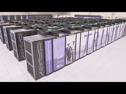 Trinity Supercomputer Now Fully Operational