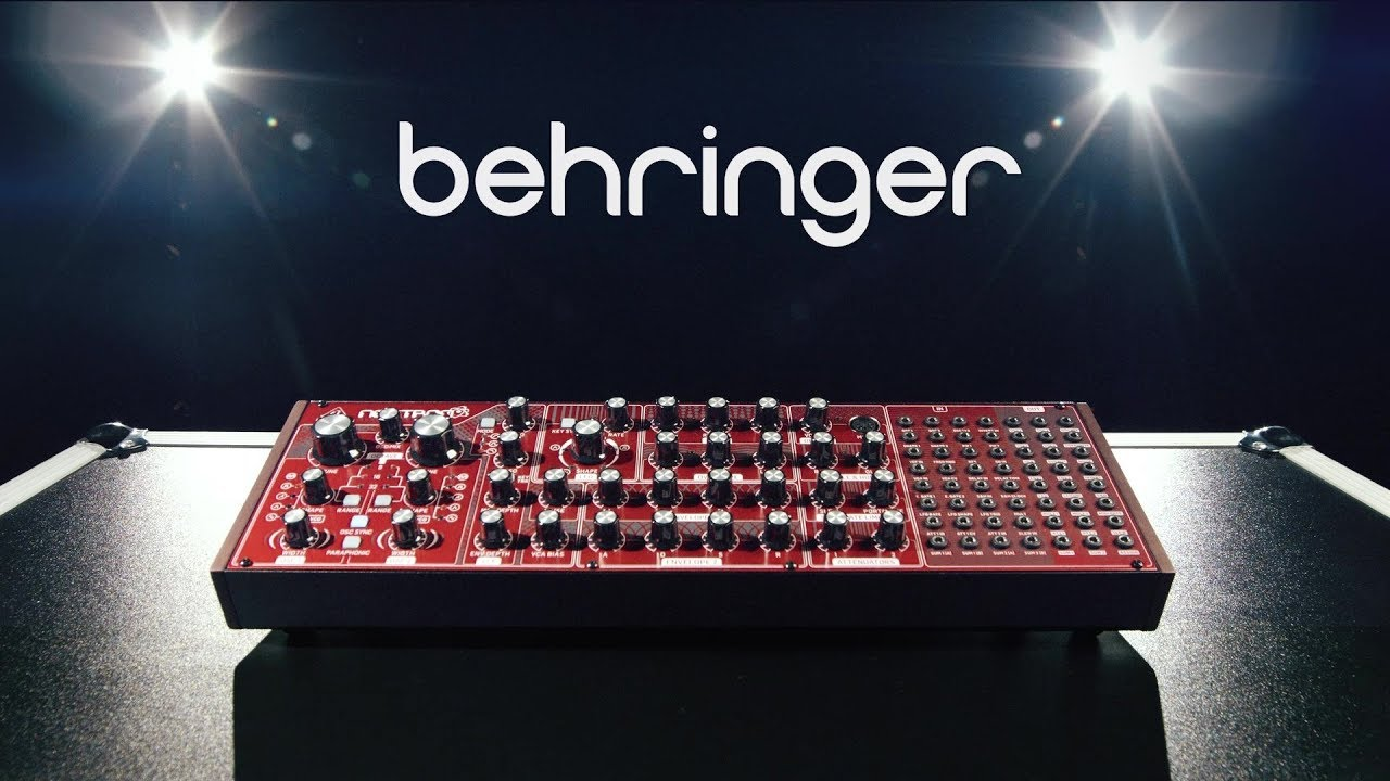 behringer neutron semi modular synthesizer gear4music demo youtube. Black Bedroom Furniture Sets. Home Design Ideas