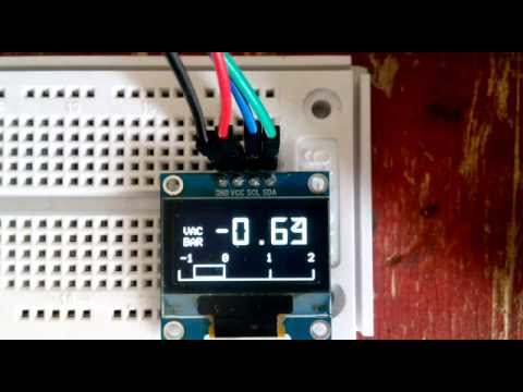Arduino Boost Gauge On Oled I2c Youtube