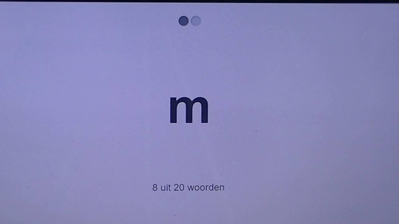 letters flitsen kern 1 t/m i - YouTube