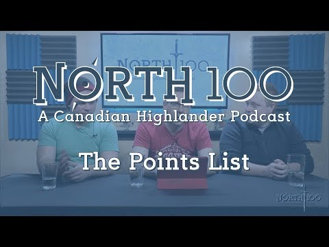 North 100 Ep30 - The Points List