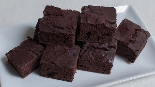 Bohnen Brownies - vegan - zuckerfrei