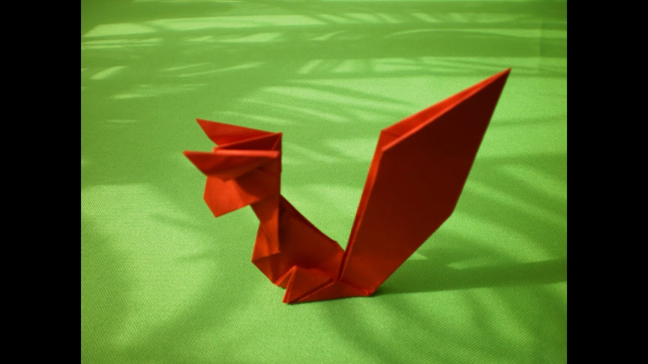 Origami squirrel how to make youtube jeuxipadfo Choice Image