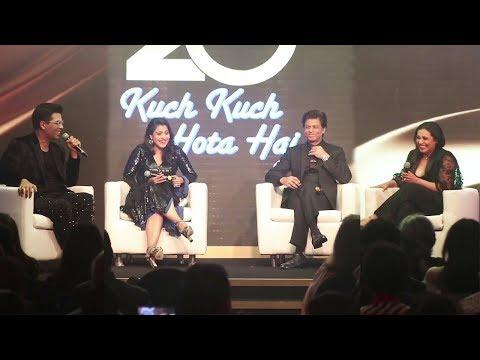 Karan Johar's Funny Chat With SRK, Kajol & Rani About Making Of Kuch Kuch Hota Hai