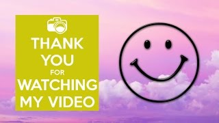Download Thanks for watching my  (Epic new outro) - Emily Pearce MP3 song and Music Video