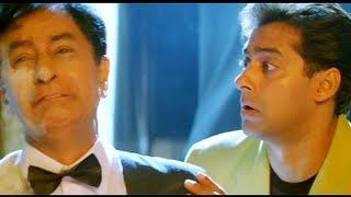 Judwaa - Salman Khan - Karishma Kapoor - Raja Beats Up Tony - Hit Hindi Comedy Movies