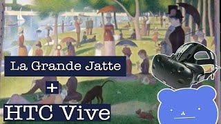 A Sunday on La Grande Jatte drawing with Google Tilt Brush (HTC Vive)