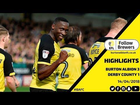 HIGHLIGHTS | Burton Albion 3-1 Derby County