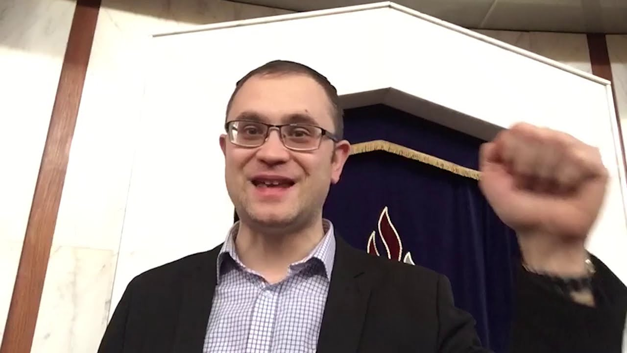Shabbat Video Message from Rabbi Knopf - January 7, 2021