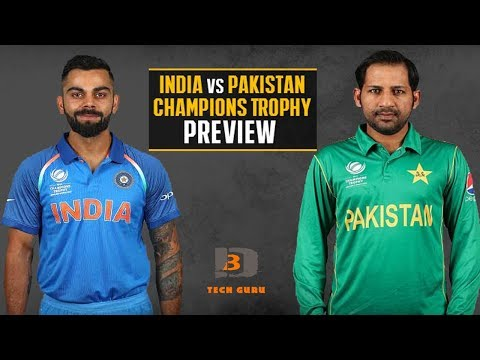 India Vs Pakistan Champions Trophy Final 2017 | Match Preview