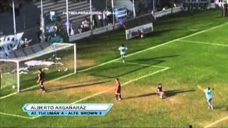 Gran asistencia de rabona de Peña para la definición de Argarañáz