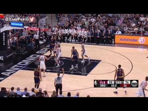 LeBron James injured after elbow from David Lee