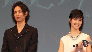 俳優の水嶋ヒロさんが1月9日、東京都内で行われた3年ぶりの映画復帰作「...