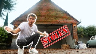 THEY STOLE MY NEW GYM...