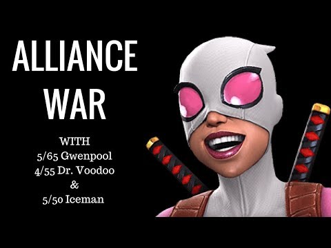 #1 My First Alliance War On Youtube!!!  Marvel Contest Of Champions