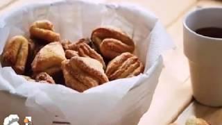 Печенье творожные треугольники с сахаром, рецепт