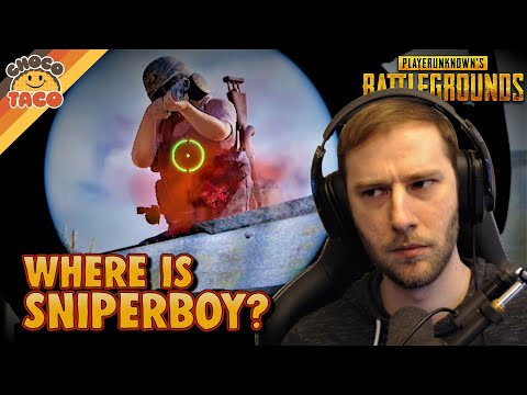 Where is SniperBoy? ft. Halifax - chocoTaco PUBG Duos Gameplay