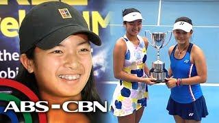 Tennis: Alex Eala balik-bansa matapos magkampeon sa Australia | TV Patrol