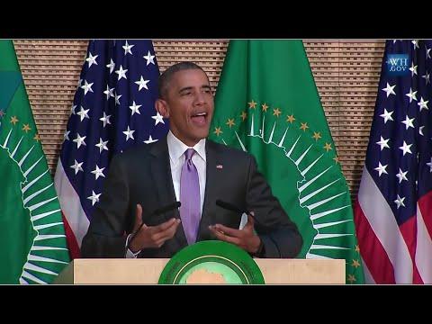 Obama Speaks To African Union- Full Speech