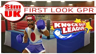 Knockout League VR Boxing First Look Gameplay Review Oculus