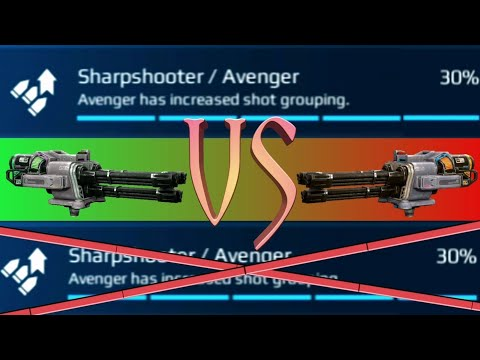 Avenger With Shot Grouping VS Without Shot Grouping - WAR ROBOTS