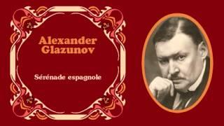 """Alexander Glazunov - «Sérénade espagnole» de """"Dos piezas para violonchelo y orquesta"""" Op. 20 (1888)"""