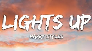 Harry Styles - Lights Up (Lyrics)